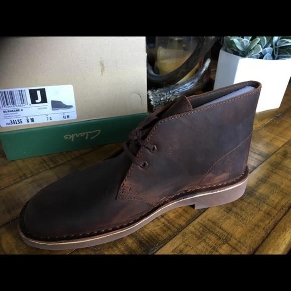2fe8feaac3f Clarks dark brown Bushacre 2 chukka boots NWT Boutique